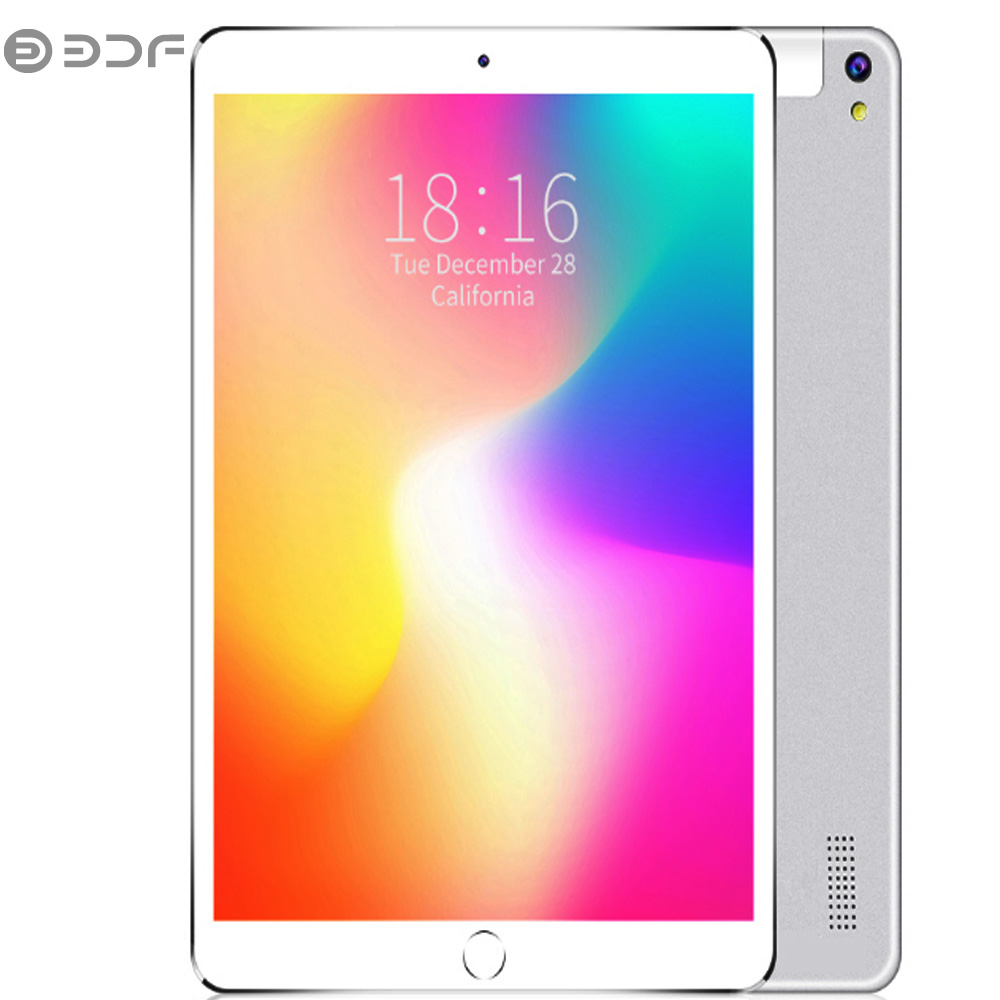 New 10.1 Inch Android 7.0 Tablet Pc 2.5D Tempered Glass Google Play 3G Phone Call Tables WiFi Bluetooth Dual SIM Cards 10 Inch