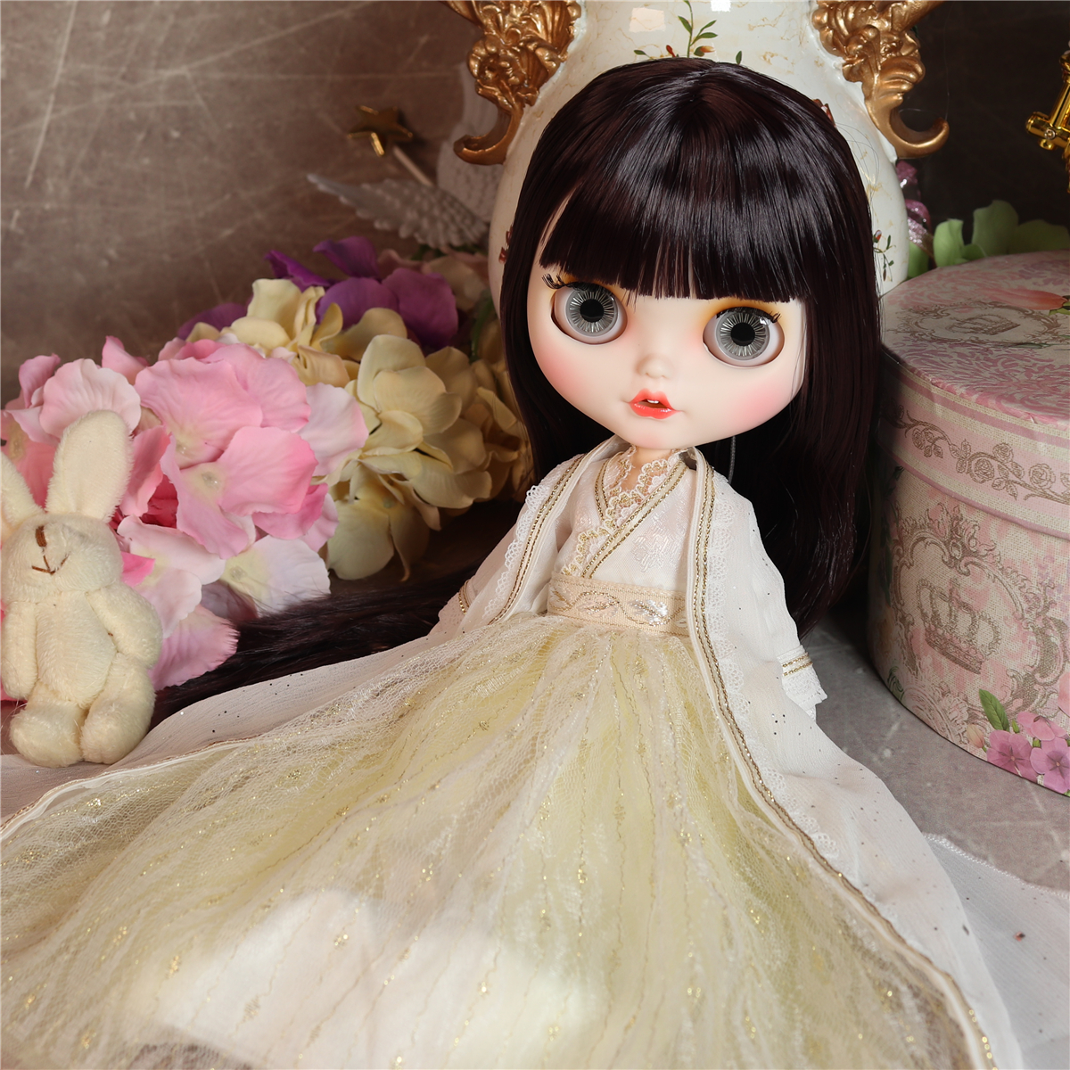 Jacey – Premium Custom Blythe Doll with Smiling Face 1