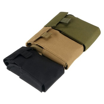Tactical 25 Round Ammo Shell Pouch 12 Gauge Molle Waist Bag Shooting Gun Bullet Holder Rifle Cartridge Hunting Accessories 4