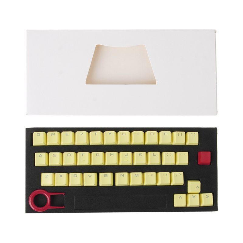 Translucent Double Shot <font><b>PBT</b></font> <font><b>104</b></font> <font><b>KeyCaps</b></font> Backlit For Cherry MX Keyboard Switch image