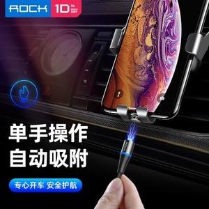 Image 5 - ROCK 3 In 1ชุดแม่เหล็กLEDสายUSBสำหรับiPhone X Xr Xs Max Xiaomi 9 8 Micro USBประเภทCสายชาร์จMagnet Charger