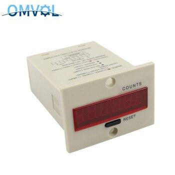 1-999999 digital counter meter 6 digits 5 terminals