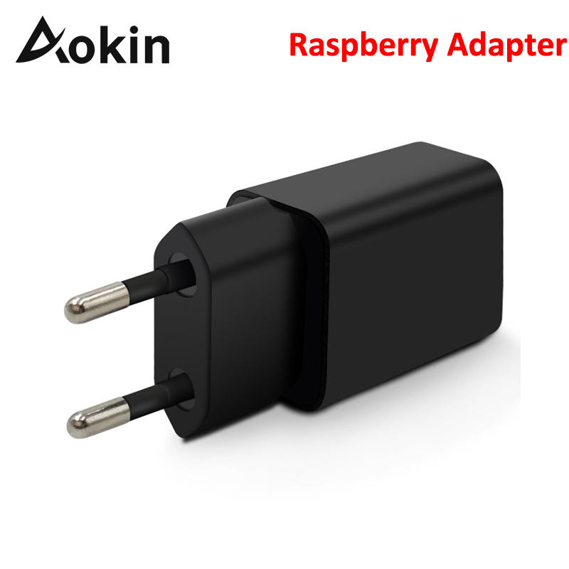 Aokin 5V 2.5A Mini Raspberry PI 3 Power Adapter Charger AC/DC Adapters PSU Power Source EU/US For Rapberry Power Supply