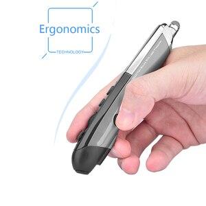 Image 3 - UTHAI DB10 חדש, 3rd דור, 4th דור עט עכבר אלחוטי כתב יד לייזר עט עכבר אישיות 2.4G עכבר