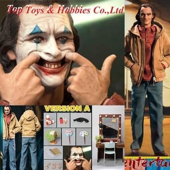 For Collection 1/6 Scale joker Bullet Head X WAR STORY BH006 The Mentally Ill Mental patient Casual joker Clown figure Toys 1 4 scale joker heath ledger head