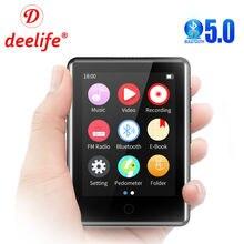 Mp3 плеер deelife bluetooth 50 полный сенсорный экран портативный