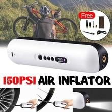 Цифровой беспроводной умный зарядный автомобильный воздушный насос портативный ручной велосипеда, автомобиля пневматический насос электрический воздушный насос