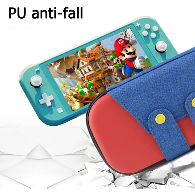 Newest Voor Nintend Switch Lite case Carry Bag Switch box for NS case Switch Mini bag Accessories Storage Cover free