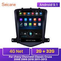 Seicane 4G Net RAM 2GB Android 9.1 samochodowy panel główny odtwarzacz GPS 9.7 cala dla chevy Chevrolet Classic Cruze 2008 2009 2010 2011-2013