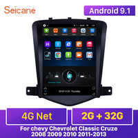Seicane 4G Net RAM 2GB Android 9.1 Car Head Unit Player GPS 9.7 inch for chevy Chevrolet Classic Cruze 2008 2009 2010 2011-2013