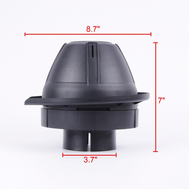 Wotefusi 1 шт. Универсальная головка для трубки круглая Грибная Ram Замена с 3,03 дюймовым входом [QPA673]