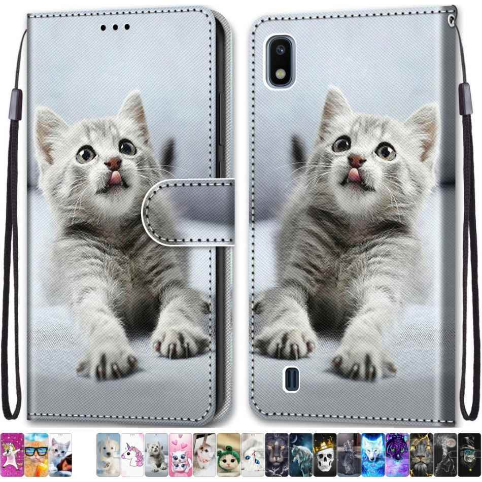 Leather Flip Funda Cute Fasion Phone Case For Huawei Y6 Prime 2018 Y9 Prime 2019 Honor 6A 6C Pro 7X 7S 8S 8C 8X Play 8A P7 DP08F