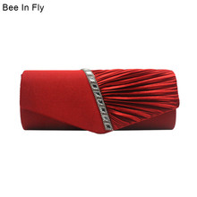 Пчела в Лету женский горячий конверт Свадебный клатч женские вечерние сумки бриллиантовый коктейльный Длинный кошелек Bolsa de Fiesta