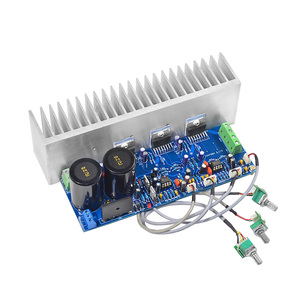 Image 2 - AIYIMA TDA7294 80W*2+100W HIFI Fever 2.1 Channel Subwoofer Power Audio Amplifier Board With Radiator DIY For Home sound Theater