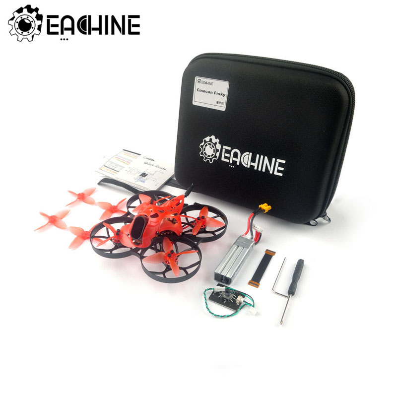 Eachine Cinecan 85mm 4K Cinewhoop 3-4S FPV Racing Drone BNF/PNP Crazybee F4 PRO V3.0 Caddx Tarsier Cam DVR