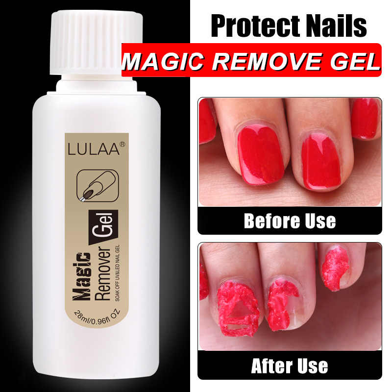 18/28 Ml Nagellak Remover Magic Nail Gel Remover Cleaner Professionele Nagels Schoner Draagbare Nail Remover Nail Art levert