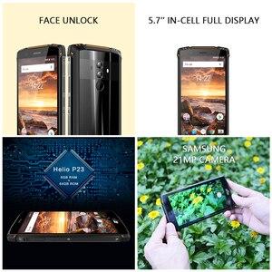 Image 4 - Homtom Zji Z9 Helio P23 IP68 Chống Thấm Nước 4G LTE Điện Thoại Thông Minh Octa Core 5.7 Inch RAM 6GB 64GB rom 5500 MAh Full Ban Nhạc Điện Thoại Di Động