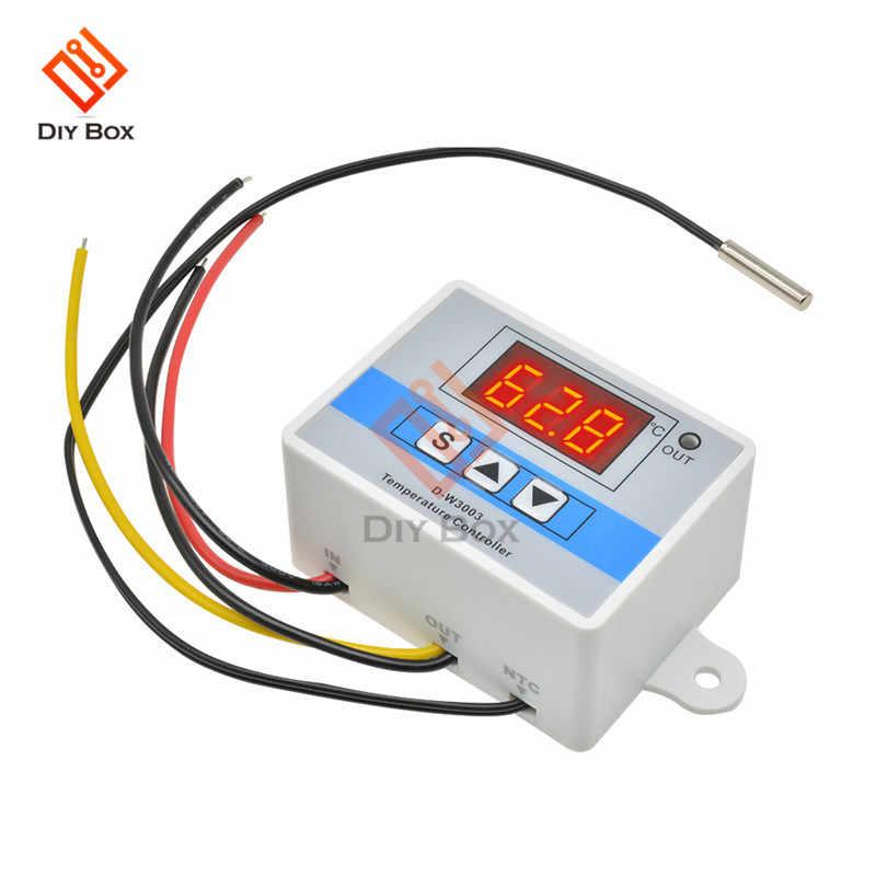 W3001 W3003 220/12/24V régulateur de température numérique Micro Thermostat thermorégulateur Aquarium incubateur régulateur de température d'eau