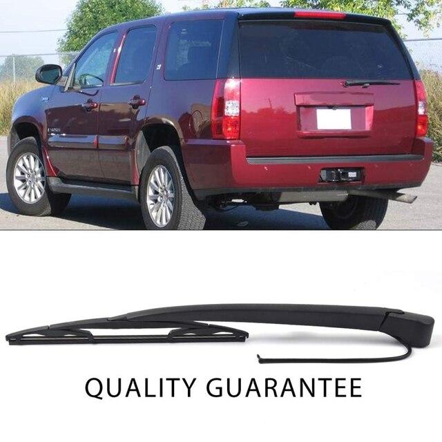 Cadillac Escalade Replacement for Chevrolet Tahoe Suburban OTUAYAUTO 15277756 Rear Wiper Arm Blade Set GMC Yukon 2007-2013
