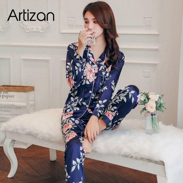 Comfortable Silk Pajamas 4