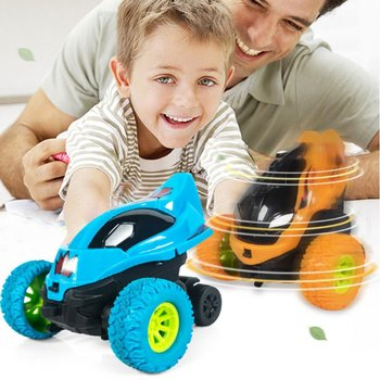 Mini Inertial Off-Road Vehicle Pullback Children Toy Car Plastic Friction Stunt Car Juguetes Carro kids toys for boys image