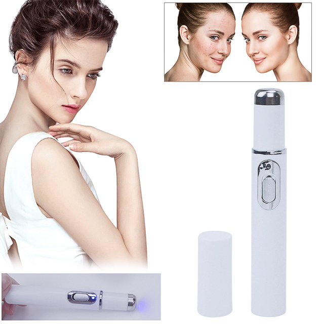 Blue Light Laser Pen Scar Acne Removal Anti Wrinkle Aging Therapy Acne Treatment Pen Beauty Device Facial Beauty Tools