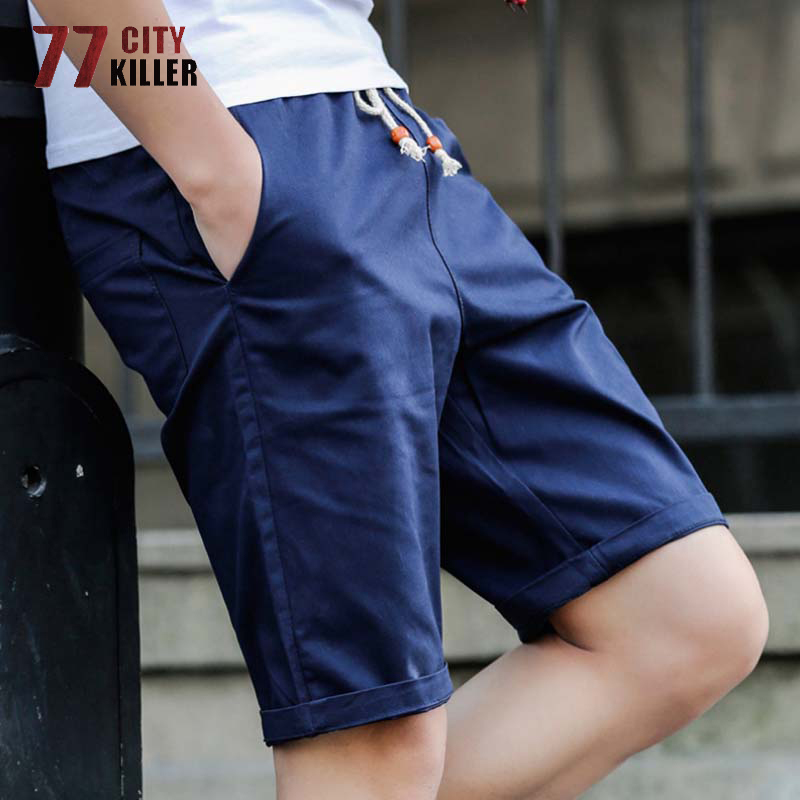 New Summer Cotton Shorts Men Fashion Brand Boardshorts Breathable Male Casual Shorts Comfortable Cool Plus Size Shorts Masculino