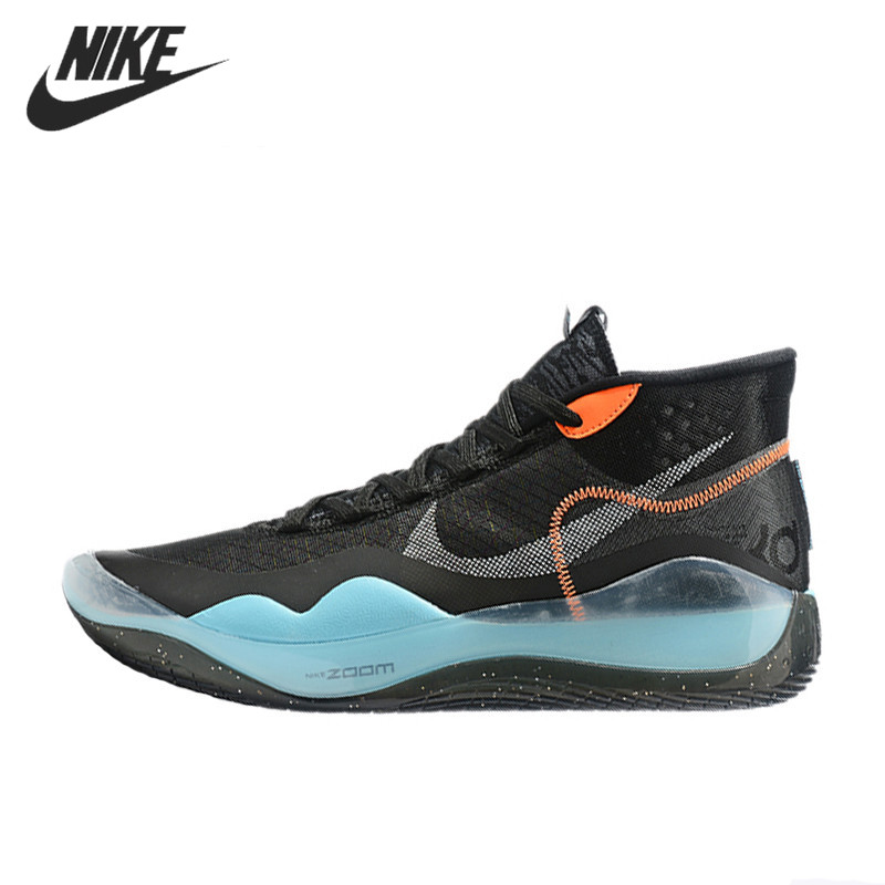 US $54.6 70% OFF|Nike ZOOM KD12 EP Kevin Durant Basketball Shoes for Men Breathable Outdoor Sports Sneakers Light in Basketball Shoes from Sports &