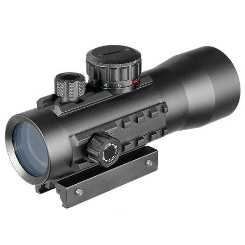 3x44 verde red dot sight scope tatico