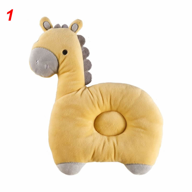 Newborn Soft Cute Pillow Positioner Prevent Flat Head Infant Head Shaping Pillow