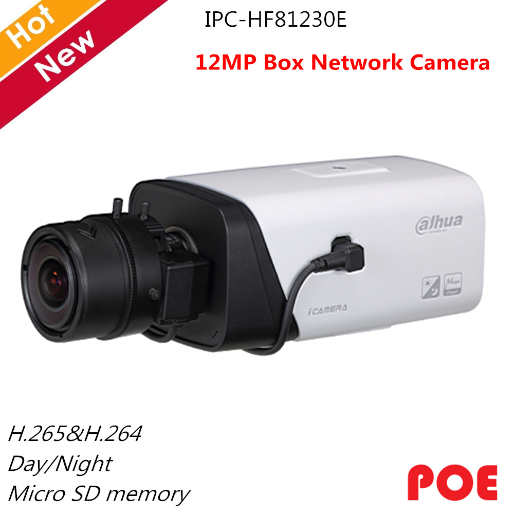 <font><b>Dahua</b></font> Ultra Series English Version <font><b>12MP</b></font> Box Network <font><b>IP</b></font> <font><b>Camera</b></font> IPC-HF81230E H.265 Day/Night Auto Back Focus Support POE image