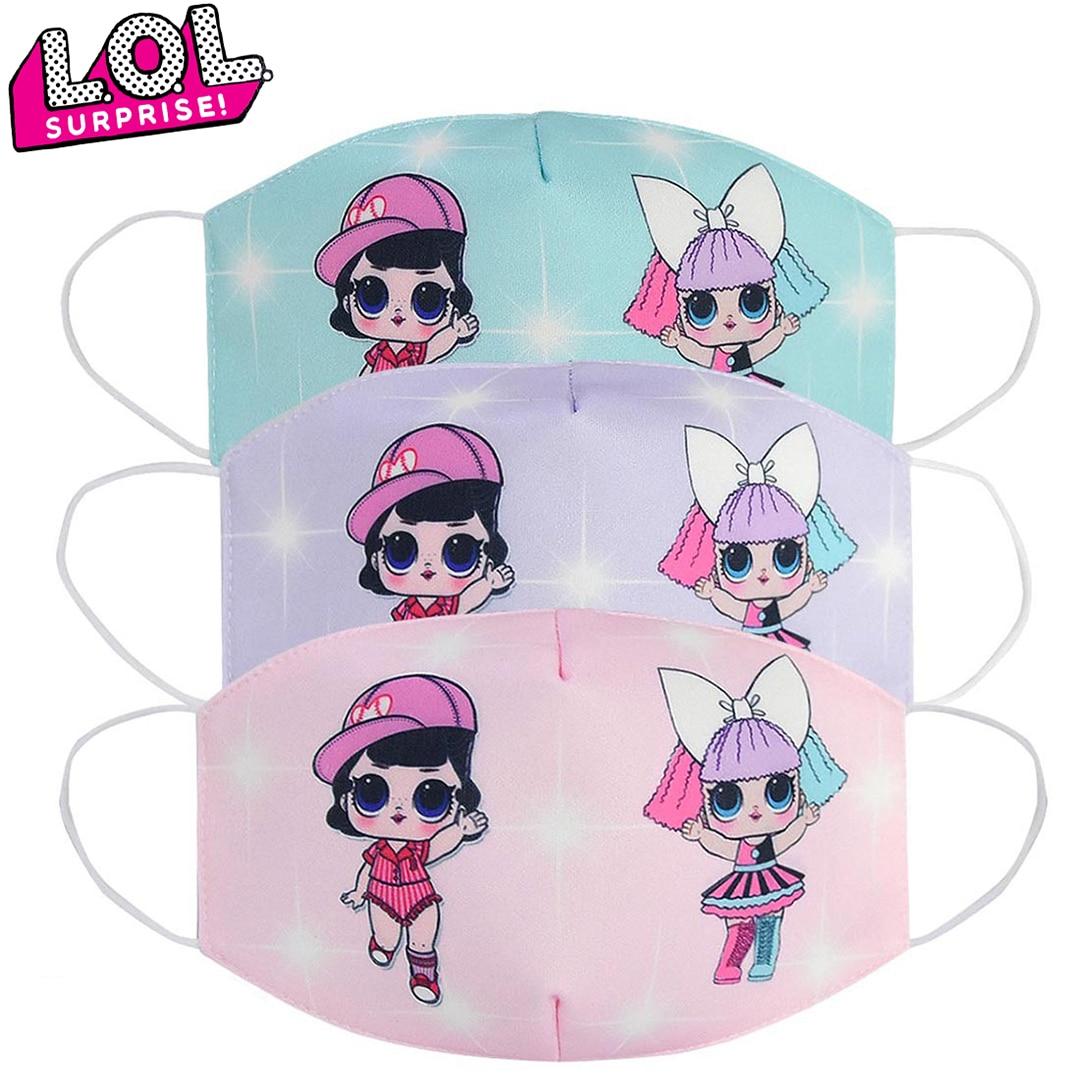 LOL Surprises Original New Mask Dust-proof Breathable Anti-fog Mask Cartoon Doll Children's Masks