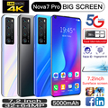 CECTDIGI Nova 7 Pro 7,2 дюймов HD Большой Экран смартфон 5000 мАч 2 Гб Оперативная память 16 Гб Встроенная память смартфон разблокированый мобильный телеф...