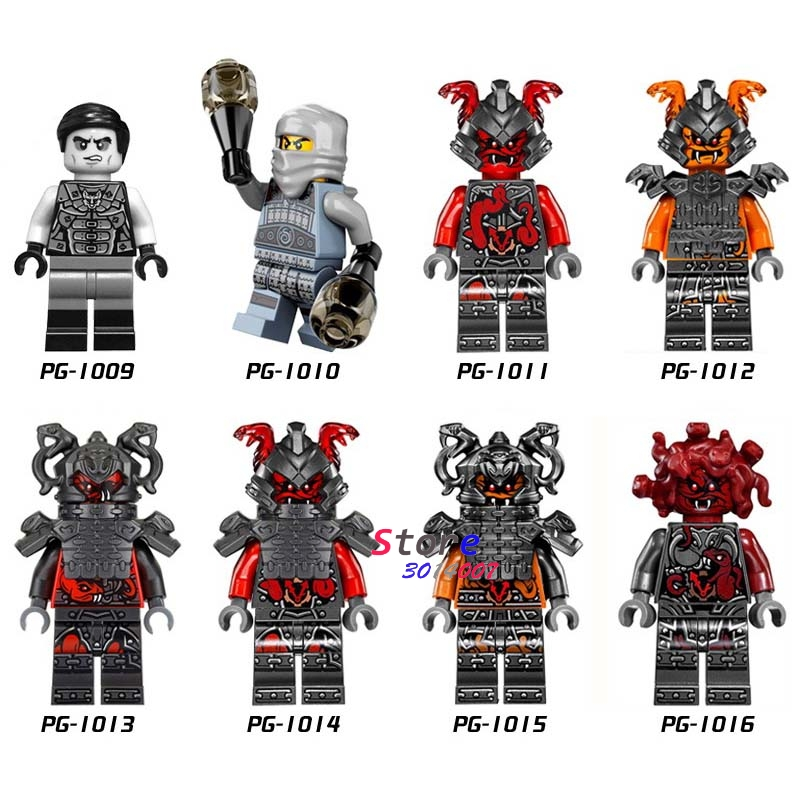 Single Of Spinjitzu Snake Building Blocks Models Bricks Toys For Children Kits Action Figures
