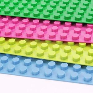 Image 4 - duploed Large Size Baseplate Big Base Building Blocks Bricks 16*32 Dots 51*25.5cm  animals kids Toys