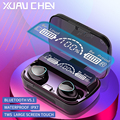 Беспроводные Bluetooth наушники tws 5,1, игровые наушники с шумоподавлением и микрофоном, Hi-Fi светодиодный дисплей