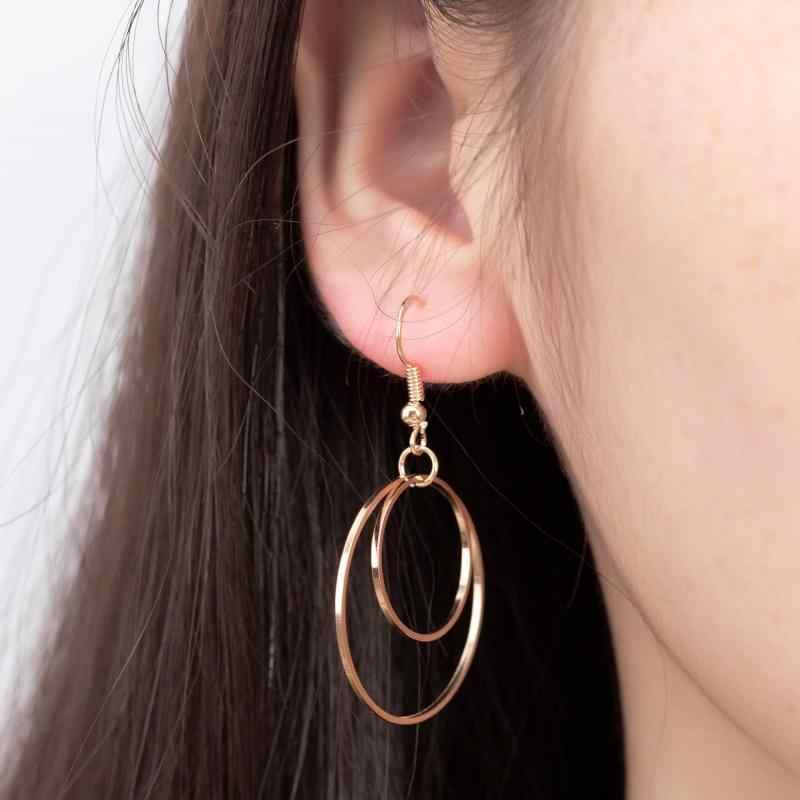 Nouveau femme fleur longue perle gland Dangle goutte boucles d'oreilles bijoux mode femme boucles d'oreilles 2019 bijoux fins accessoires boucles d'oreilles