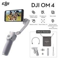 DJI OM4 OM 4 - Handheld 3-Achse Smartphone Gimbal Stabilisator mit Grip, Stativ, gimbal Stabilisator Telefon Stabilisator OSMO Mobile 4