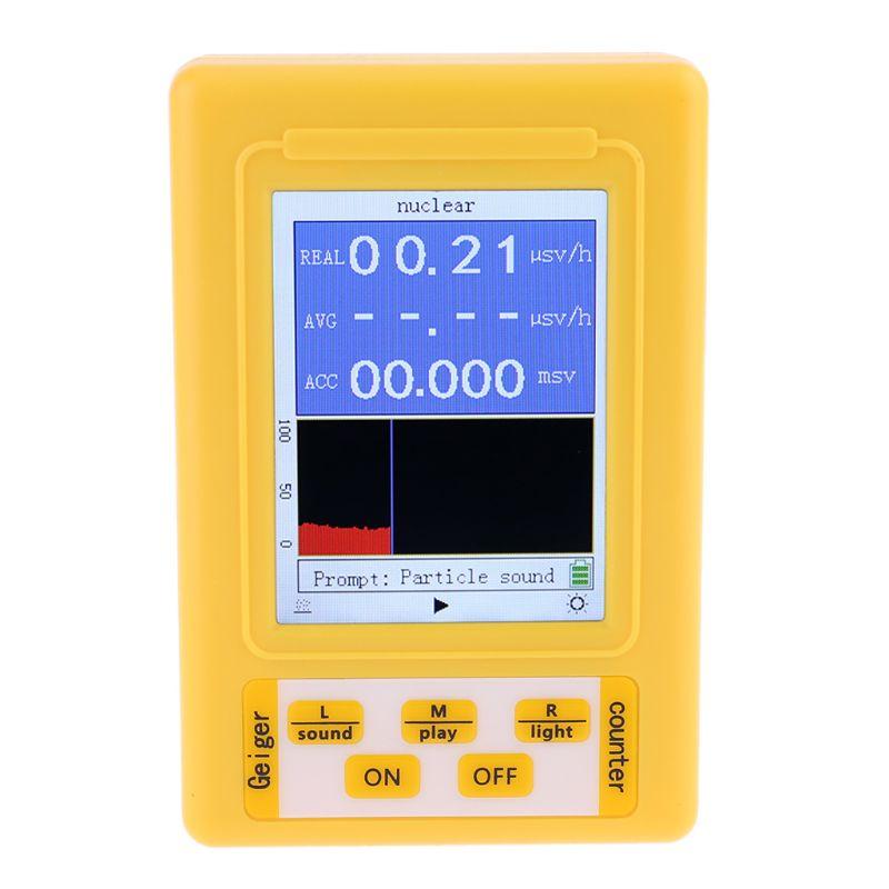 BR-9C 2in1 Digital Radiation Nuclear Radiation Detector Geiger Counter EMF Meter 831F