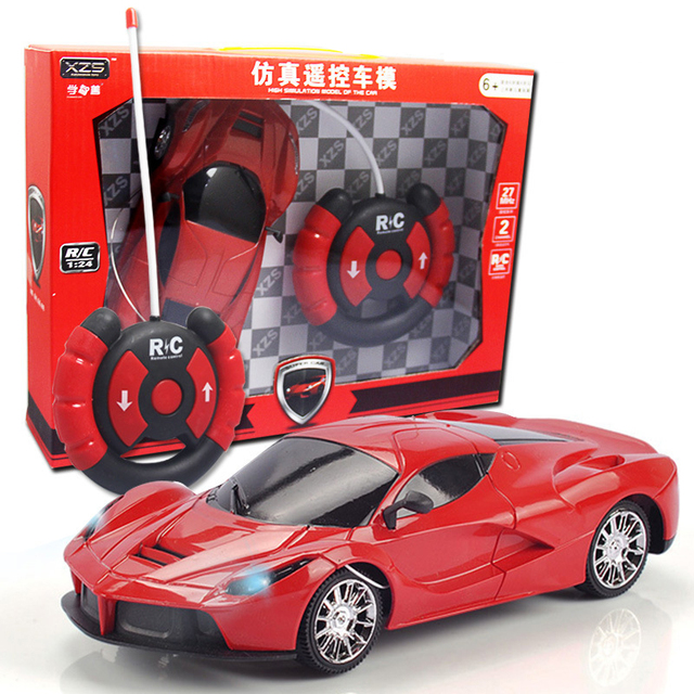 Rc Car Sports Car Toy Children Remote Control Electric Luxury Red Racing Rafa Car Model Kids  Gifts