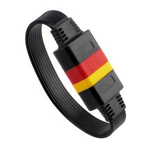 Image 5 - Uniwersalny kabel przedłużający OBDII 16Pin pojazdy samochodowe OBD2 męski na żeński przedłużacz samochodowy system OBD kabel diagnostyczny