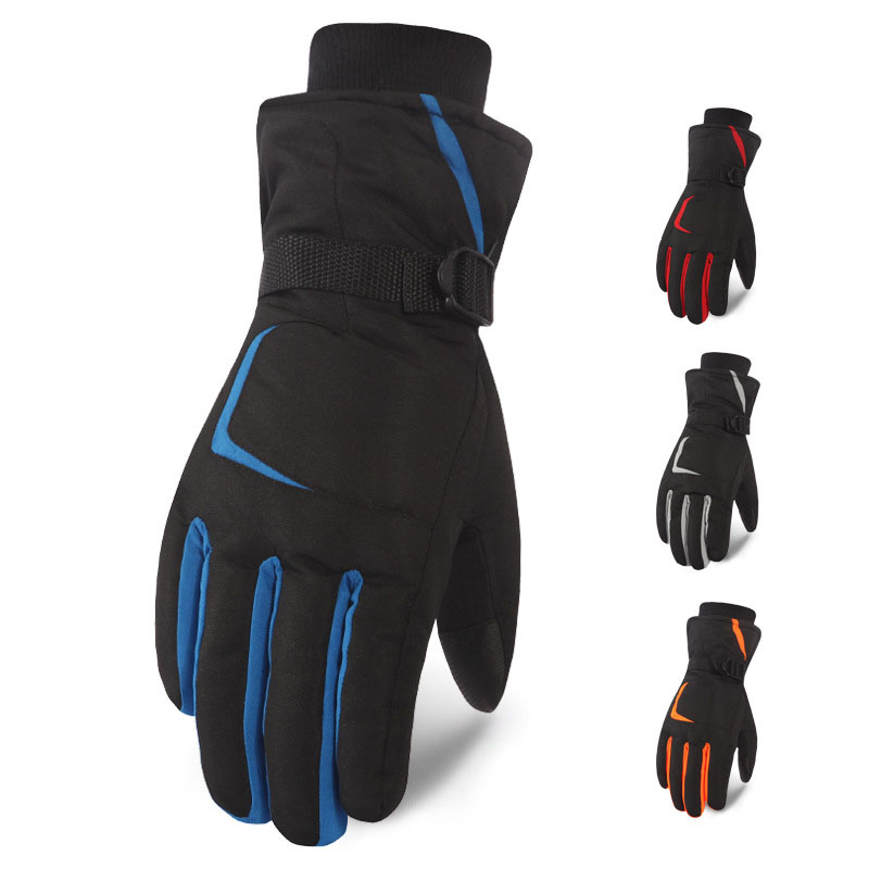 Warm Ski Gloves For Men Women Winter Outdoor Sports Motorcycle  Hiking Waterproof Gloves Snow Windproof Skiing Snowboard Gloves