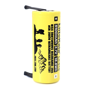 Image 3 - 3 12PCS  Liitokala Lii 51S 26650 20A rechargeable battery, 26650A lithium Batteries 3.7V 5100mA  Suitable for flashlight+Nickel