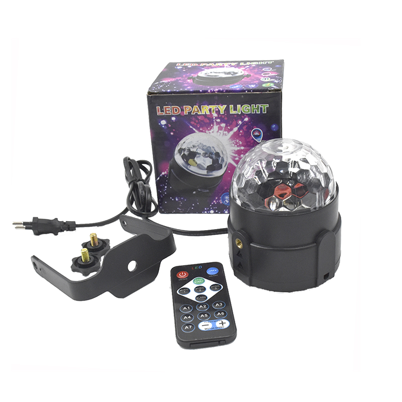 Led Disco Light Stage Lights DJ Disco Ball Sound Activated Laser Projector Effect Lamp Light Music Christmas Party  Birthday
