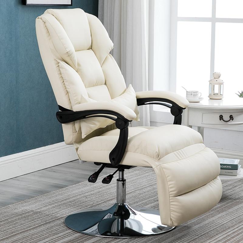 Beauty Chair Reclining Lifting Beauty Mask Experience Chair Flat Recliner Computer Chair Reclining Lunch Break Office Chair