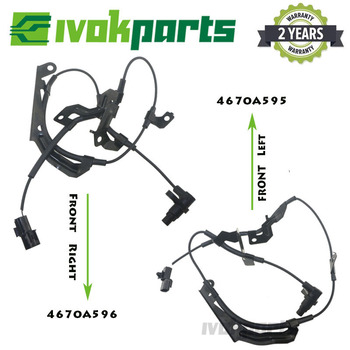 Front Right & Left ABS Wheel Speed Sensor For Mitsubishi Triton L200 Pajero Montero Sport 4670A596 4670A595 image