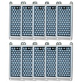 10PCS 5 gr/std Ozon Platte Tragbare Hause Generator Integrierte Keramik Ozonisator Luft Wasserfilter Teile-in Luft-Reinigungsapparat Teile aus Haushaltsgeräte bei