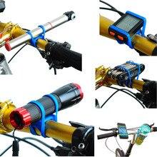 Велосипед силиконовый высокой эластичной лентой фонарик телефон ремень лента держатель для MTB Горный для велосипедного спорта Аксессуары