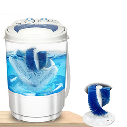 260W Clothes Portable Mini Washing Shoe machine washing shoes machine non-automatic brush shoes machine Dorm machine single-barr