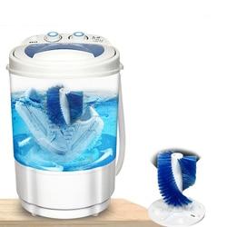 260W Kleren Draagbare Mini Wassen Schoen machine wassen schoenen machine non-automatische borstel schoenen machine Dorm machine enkele -barr